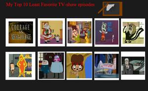 hàng đầu, đầu trang 10 Worst Tv hiển thị