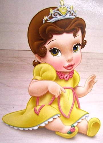Beauty and the Beast wallpaper entitled                    Baby Belle