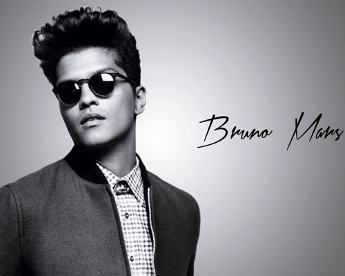 Bruno Mars fond d'écran with sunglasses and a business suit entitled Bruno Mars
