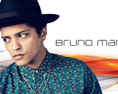 Bruno Mars fond d'écran probably with a boater, a fedora, and a porkpie titled Bruno Mars