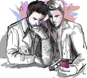 ♢ Dean and Castiel ♢