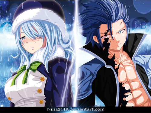 fairy tail fondo de pantalla containing anime titled *Gruvia Sadness in the Dark Side*