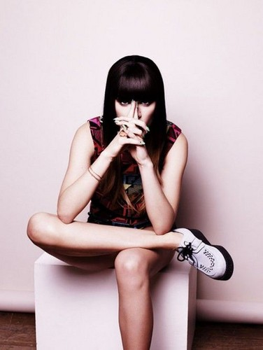 Jessie J wallpaper probably containing skin entitled                       Jessie J