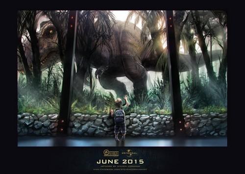 Jurassic World achtergrond titled ✖ Jurassic World ✖