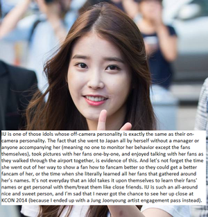 Just in case you need a few more reasons to convince you why IU is the BEST of the BEST