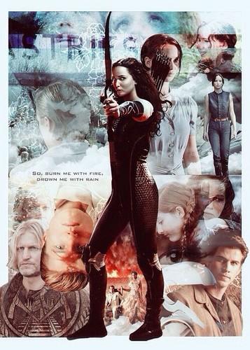 Katniss Everdeen wallpaper with a bassoon titled ★ Katniss Everdeen ★