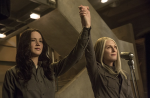 Katniss and Alma Coin