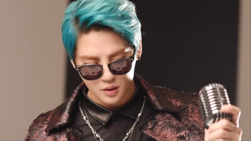 JYJ wallpaper probably containing sunglasses titled       Kim Junsu