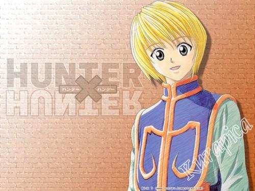 Hunter x Hunter wallpaper titled                Kurapica
