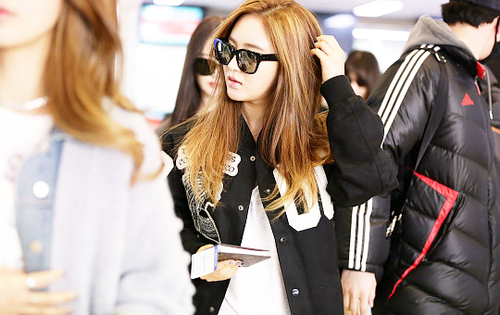 Kpop wallpaper containing sunglasses entitled      Kwon Yuri