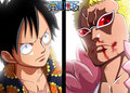*Luffy Vs Doflamingo*