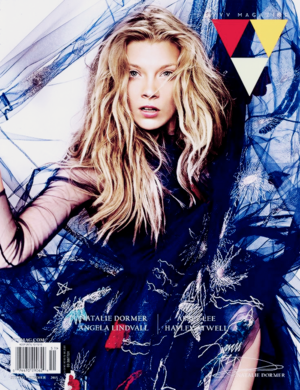 Natalie Dormer on the cover of the spring's issue of VVV Magazine