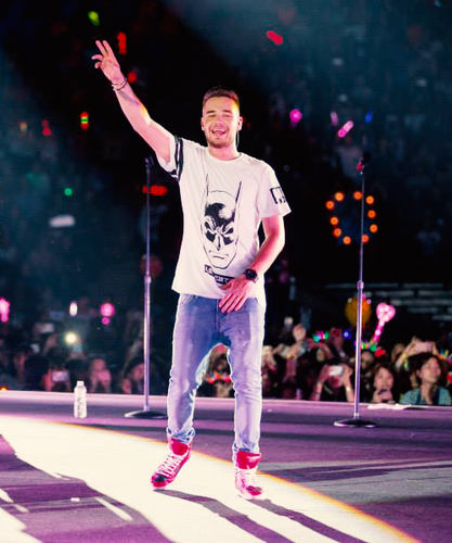 Liam Payne fond d'écran possibly containing a concert titled On the Road Again Tour