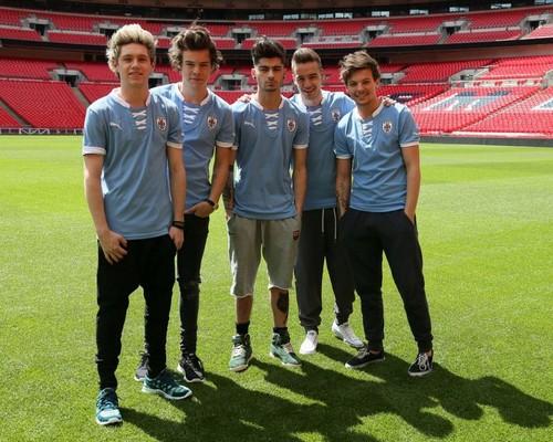 একমুখী দেওয়ালপত্র probably with a উইকেট titled One Direction