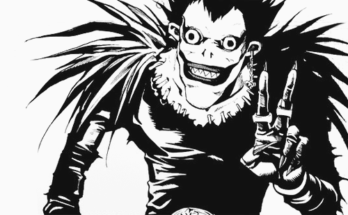 Death Note achtergrond with anime entitled Ryuk