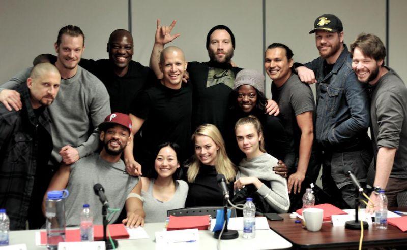 """Suicide Squad"" First Cast Photo"