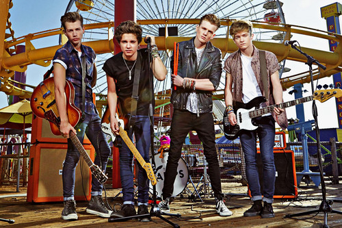 The Vamps wallpaper possibly with a green beret entitled                 The Vamps