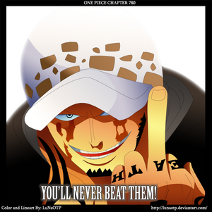 *Trafalgar Law : wewe Will Never Beat Them*