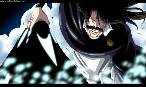 블리치 아니메 바탕화면 titled *Yhwach Pulls Out Mimihagi Sama From Soul King*
