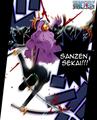 *Zoro defeats Peeka : Sanzen Sekai*