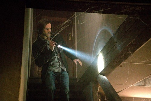 Sam Winchester wallpaper possibly with a shower entitled 10 x19 The Werther Project