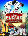 Walt Disney Parody Posters - 101 Dalmatians