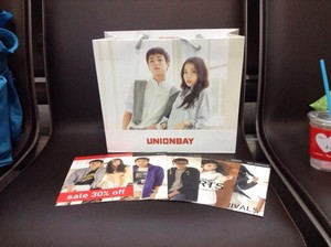 150402 Some cool ‪‎IU‬ and ‪Lee Hyun Woo‬ ‎UNIONBAY‬ swag from @_____totoa Twitter