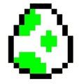8 bit Yoshi egg