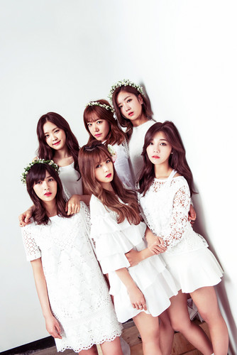 Korea Girls Group A Pink wallpaper with a bridesmaid called A-PINK for AJ Girls Magazine