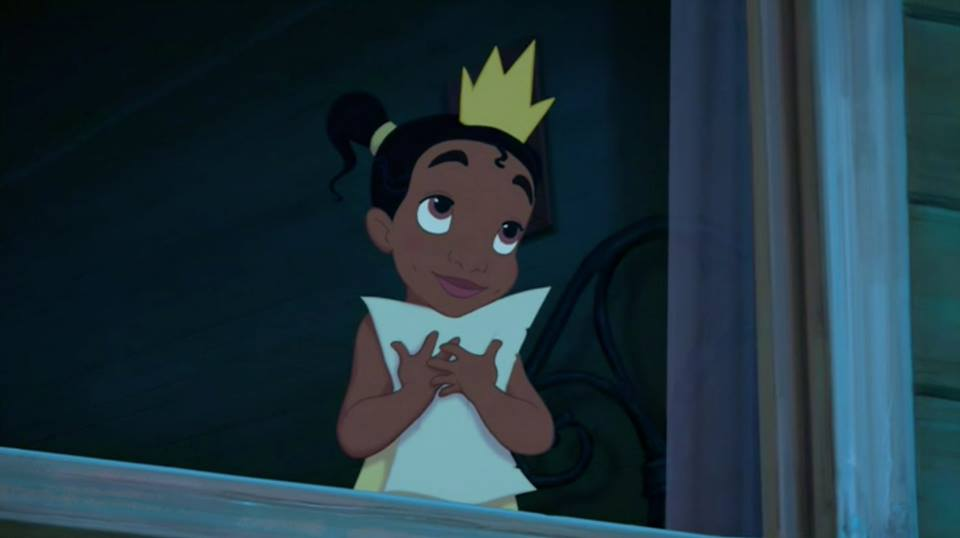 A Young Tiana