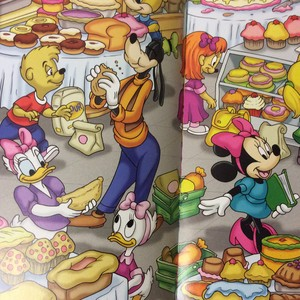 A rare appearance of Webby in a Mickey and Marafiki book