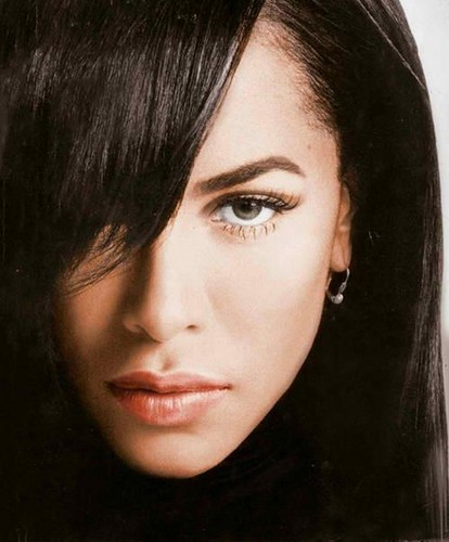 Aaliyah wallpaper possibly containing a portrait entitled Aaliyah [edited]