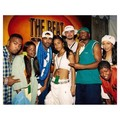 Aaliyah with her super crew ♥ *rare*