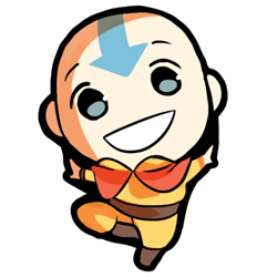 Avatar The Last Airbender kertas dinding probably with a venn diagram called Aang