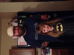 Abby(the little girl) and dad