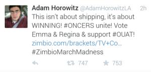 Adam Horowitz - Twitter