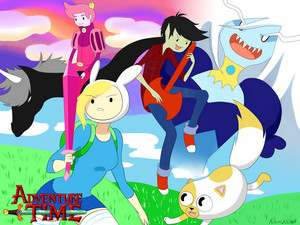Adventure Time with F and C