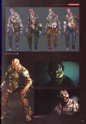 Afflicted Concept Art