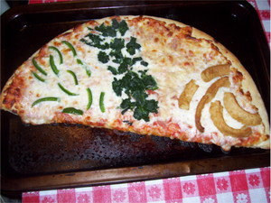 Aldi pizza (Cooked)