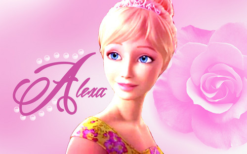 Barbie-Filme Hintergrund with a portrait called Alexa Hintergrund