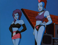 Alien Robot Girls - dc-comics photo