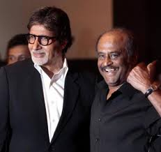 Amitabh and Rajni