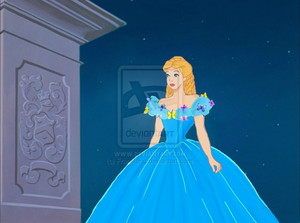 Animated Cendrillon 2015