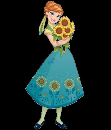 Frozen Fever Hintergrund containing a bonnet titled Anna