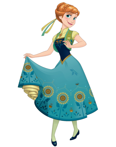 Frozen Fever Hintergrund entitled Anna