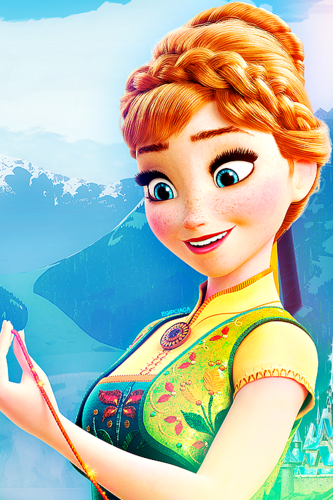Frozen Fever Hintergrund called Anna