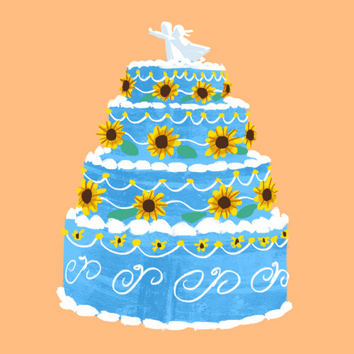 Elsa and Anna images Annas Birthday Cake wallpaper and background ...
