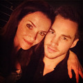 Annie Wersching and Chris Wood  - the-vampire-diaries-tv-show photo