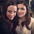 Annie Wersching and Jodi Lyn O'Keefe - the-vampire-diaries-tv-show photo