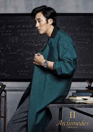 Archimedes Watch S/S 2015 Ads Feat. So Ji Sub